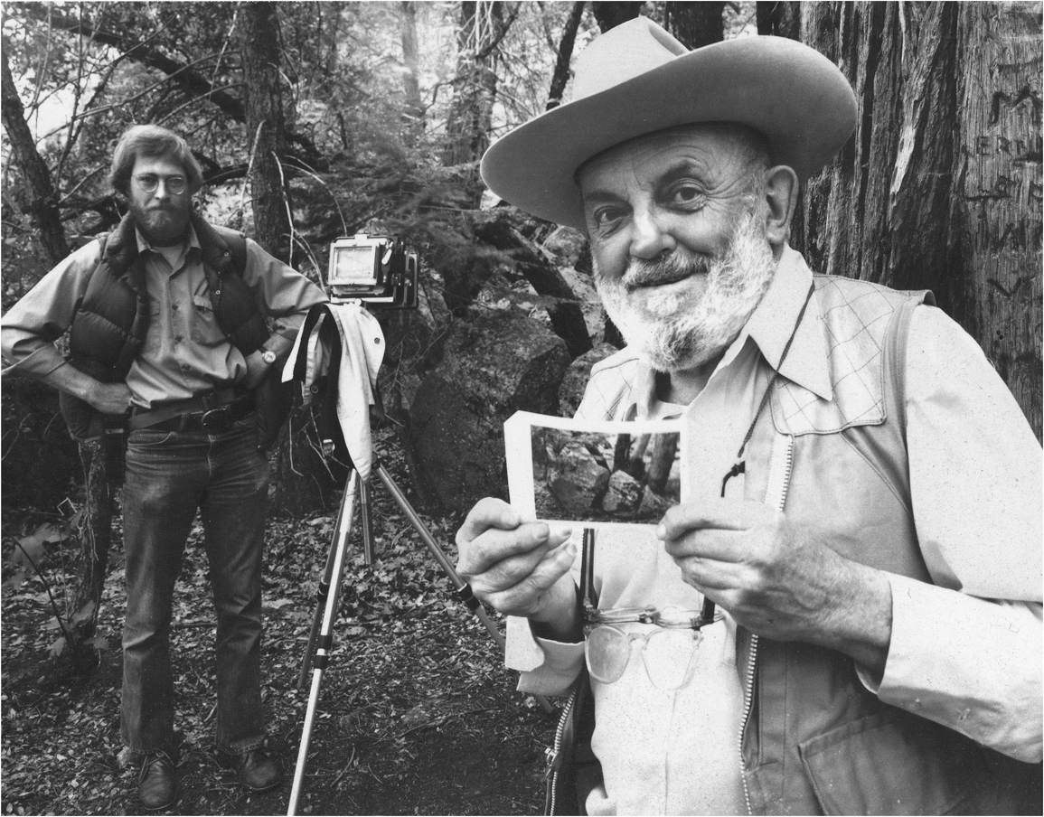 Ansel-Adams-and-Alan-Ross-by-Daniel-Peebles_webres